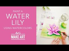 Watercolor Flowers, Watercolor Paintings, Watercolors, Let's Make Art, Watercolour Tutorials, Painting Techniques, Art Tutorials, Painting & Drawing, Projects To Try