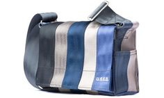 "Handbag made of old seatbelts.   U.S.E.D. - ""Pauline"""