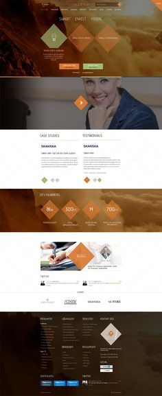 Corporate website prepared for Norwegian consulting company. We were responsible for complete website preparation, starting from website prototype, then graphic design, through HTML/CSS/JS development and ending up on Drupal CMS integration. www.inlead.no/nb