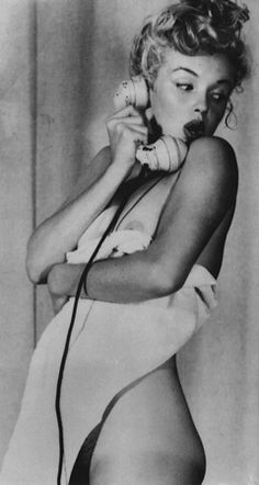 Marilyn Monroe. Photo by Earl Moran, 1949..