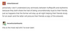 13 Tumblr Posts To Bring Out Your Inner Hufflepuff