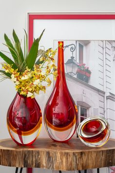 African Wear Designs, Sunflower Vase, Red Vases, Vases Decor, E Design, Decorative Bowls, Buffet, Things To Do, Projects To Try