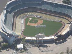 Flying Above Dodger Stadium!