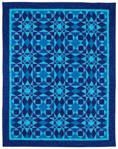 Martingale - More Favorite Traditional Quilts Made Easy  -- Storm at Sea
