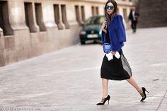 Irene Kim | PFW Spring-Summer 2015 Street Style