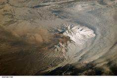 Shiveluch Volcano, Kamchatka Peninsula, Russia (NASA, International Space Station Science, 03/21/07) | Flickr - Photo Sharing!