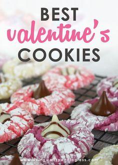 Easy Cake Batter Valentine's Day Cookies ⎢ Quick and Simple Dessert Recipe via @lwsl #easydessert #valentinesday #dessert