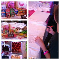 """Simple """"un"""" Slumber Party - The Polkadot Chair. Claire's Un-Slumber Party. I love these ideas!!"""