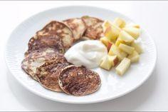 Bananpandekager med æg og banan - kun 2 ingredienser!