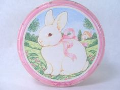 Bunny Tin Midwest of Cannon Falls Vintage 1991 by martasrose, $7.00