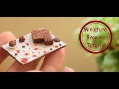 how to: miniature brownies
