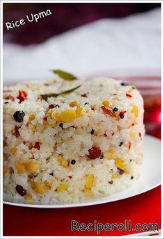 Rice Upma / Arisi Upma