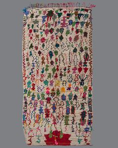 Vintage Moroccan Azilal Carpet AZ68