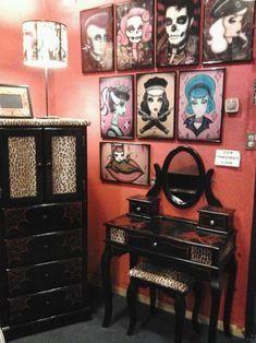 Rockabilly bedroom | Dream Big! | Pinterest | Rockabilly, Bedrooms ...