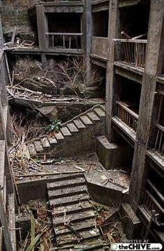 The Abandoned Island of Hashima (15 Photos)