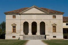 Finale di Agugliaro (Veneto, Italy), Villa Saraceno (built c. 1545/48 for Biagio Saraceno; arch.: Andrea Palladio).  View of the main facade.