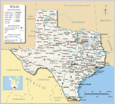 Reference Map of Texas, USA - Nations Online Project Texas Map With Cities, Texas Maps, Texas State Map, Arkansas, Homeschooling In Texas, Austin, Oklahoma, Louisiana, Apps