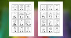 Pexeso s písmenkami abecedy na stiahnutie. Naučte deti písmenká zábavnou formou.