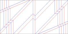 Relief Crease Pattern | par Ray Schamp. Plein de crease patterns sur flickr Ray Schamp