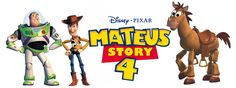 B-DAY Mateus  Trabalho: identidade visual aniversário Ano: 2013 Inspiração: Disney/Pixar Toy Story