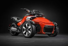 Can-Am Spyder F3 IN ORANGE . YES.