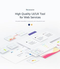 """Check out this @Behance project: """"Resourсe   UI/UX Tool for Web Services"""" https://www.behance.net/gallery/45942097/Resourse-UIUX-Tool-for-Web-Services"""