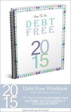 Soon to be debt free - FREE debt workbook! From FunCheapOrFree.com