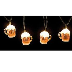 #Oktoberfest party decorations: String of Beer Lights