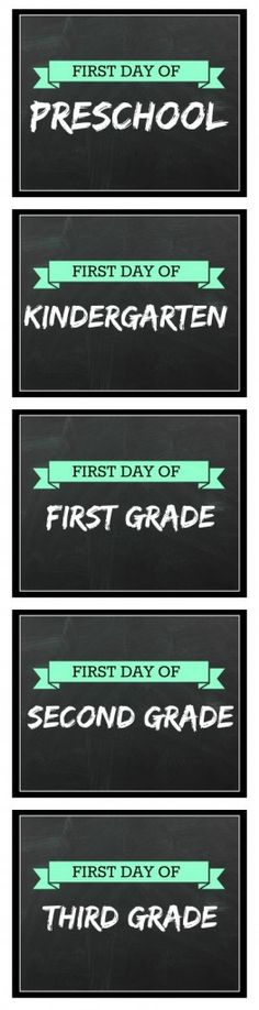 Printable First Day of School Signs for Back to School - These are completely Free, First Day School Sign, Back To School Party, School Signs, School Daze, School Fun, School Ideas, School Stuff, Preschool First Day, Police