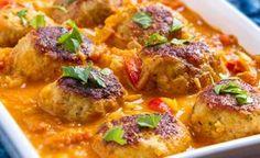 Recepty od počítače Russian Recipes, Naan, Curry, Chicken, Ethnic Recipes, Food, Polish, Curries, Vitreous Enamel