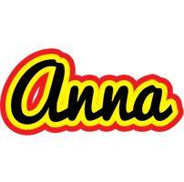 Anna flaming logo