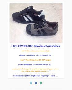Outletverkoop Mosquetto schoenen -- Izegem -- 17/11-25/11