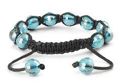Macrame- Adjustable Stone Bead Bracelet - Black String Blue Crystal.Bead Size : 10mm JewelryVolt. $5.00. Macrame Bracelet. Adjustable Stone Bead Bracelet. Black String Blue Crystal Bracelet. Bead Size : 10mm. Save 31% Off!
