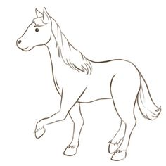 How to Draw a Simple Horse