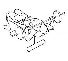 Wide Grip Bench Press 2