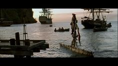 Pirates of the Caribbean: The Curse of the Black Pearl (2003) US Disney Blu-ray 2007 Blu-ray Screenshot #3 / 35
