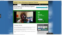 "WE DID IT! I am in tears. We hit the TOTAL campaign goal, bringing ""SMAC! Sock Monkeys Against Cancer"" to life. I cannot even describe to you my emotions. You helped bring my Mom's dream to life, literally as she is losing hers. There aren't words. Thank you. Thank you. Now, all who who have/impacted by cancer can have a snugly NoMo or Phoenix SMAC! monkey to give them lots of love & help them SMAC! it. I can't stop crying. Mom & I are beyond grateful.Thank you all so much. #cancer"