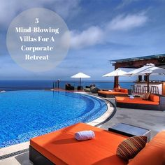 Ministry of Villas has picked 5 mind-blowing villas for a corporate retreat in Bali or Thailand. Get inspired here.