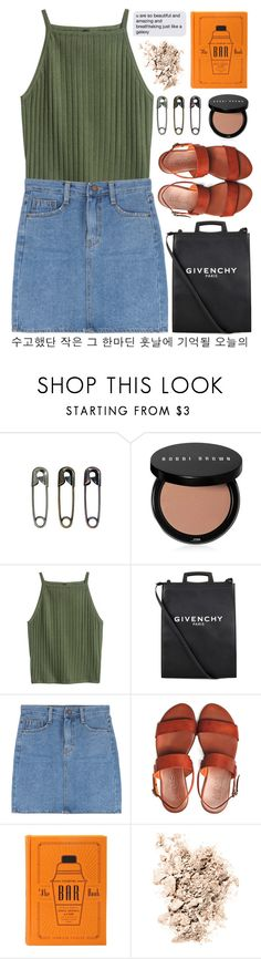 """""""*keep calm, honey, i'ma stick around*"""" by baimatovaaa ❤ liked on Polyvore featuring Tim Holtz, Bobbi Brown Cosmetics, Givenchy and NARS Cosmetics"""