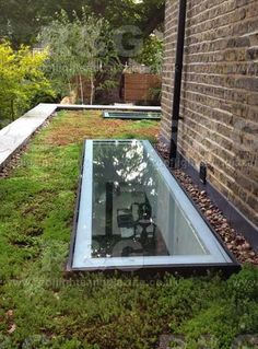Flat glass rooflights for windows make great sky light - Roof?