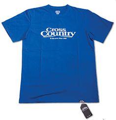 Cross Country Classic T Cobalt Blue