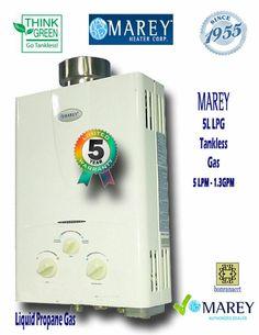 Propane Tankless Water Heater Best On Demand Tiny House Marey Ga5lp Tankless Water Heater Water Heater