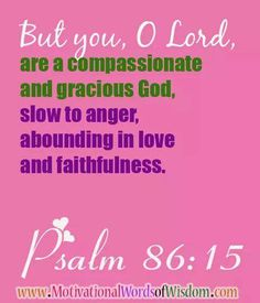 Psalm 86:15