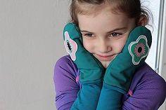Detské doplnky - Softshellové palčiaky detské - nepremokavé - 8944905_