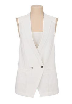 stud button vest (original price, $39) available at #Maurices