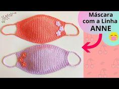 Crochet Mask, Crochet Faces, Knit Crochet, Crochet Rug Patterns, Sewing Patterns, Mascara Tutorial, Tatting Jewelry, Crochet Videos, Crochet Slippers