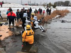 "Michigan Troopers geared up in full ""force"" for the benefit of Special Olympics Michigan at the Livingston County Polar Plunge on January Livingston County, Special Olympics, Blogging, Star Wars, Posts, Stars, Messages, Starwars, Blog"