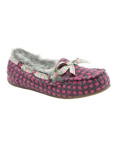 Take a look at this Pink Cuddles Regan Slipper by Rocket Dog on #zulily today!