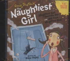 Enid Blyton and Anne Digby - Naughtiest Girl: Naughtiest Girl CD: The Naughtiest Girl Saves the Day & Well Done, The Naughtiest Girl - Hachette Childrens Books Enid Blyton Books, Famous Books, Literary Fiction, Save The Day, Childrens Books, Wellness, Writing, School, Strawberry Plants