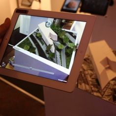 technology company Inition has developed an augmented-reality iPad app that allows architects to look inside static architectural models, visualise how their building will look at night and track how wind flows around their design proposals (+ movie). Design Show, Tool Design, Edge Design, Museums In Michigan, Broad Art Museum, 3d Printed Building, Zaha Hadid Architects, Dezeen, Experiential